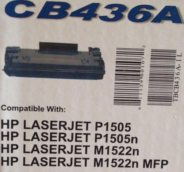 HP CB436A Black