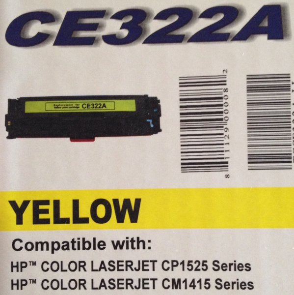 HP CE322A Yellow