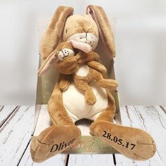 Guess How Much I Love You Lullaby Hare Personalised