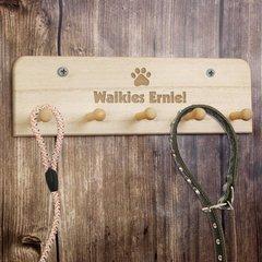 Dog Lead Hooks Personalised