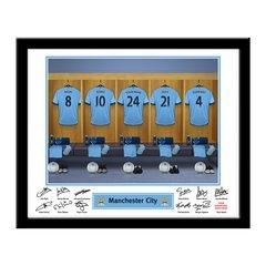 Manchester City Dressing Room Frame