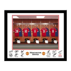 Manchester United Dressing Room Frame