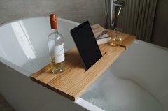 Solid Beech Bath Bar