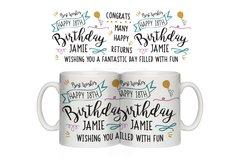 Birthday Slogan Mug