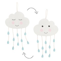 SWEET DREAMS RAINDROP HANGING DECORATION