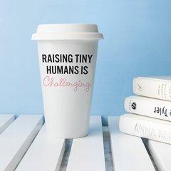 Personalised Tiny Humans Travel Mug