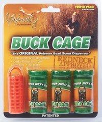 Buck Cage Hunter Orange Triple Pack