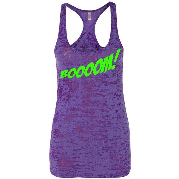 Booom! Ladies Purple Tank
