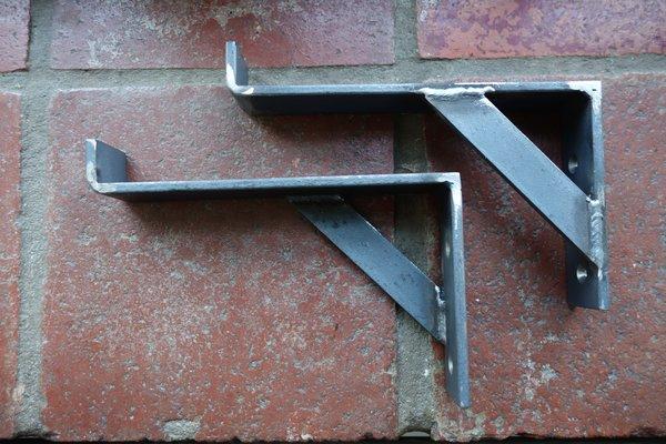 Heavy Duty Handmade Steel Shelf Bracket Bob S Brackets