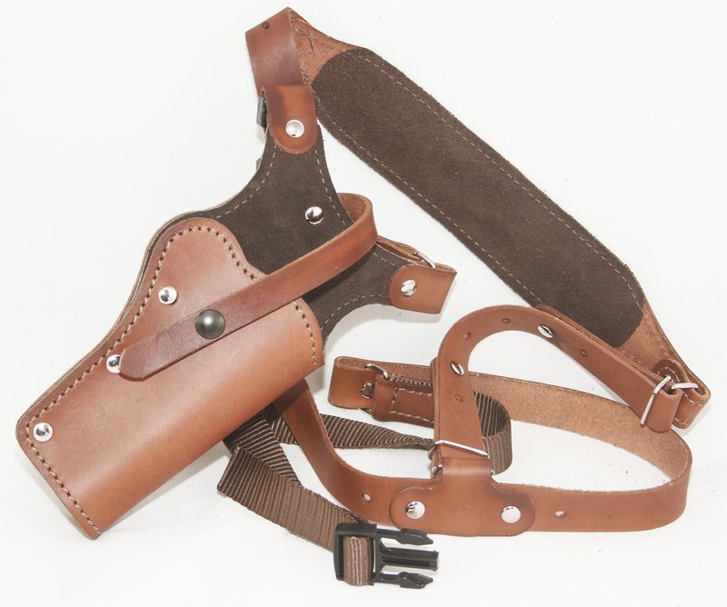 Chest Holster/Tanker Holster/Chest Rig | Western Images Leatherworks ...