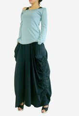 A14 Switch It Women Convertible Maxi Skirt Pants in Lagenlook with Big Pockets
