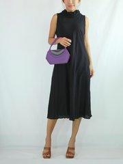 C13 Classy Summer Women Black Dress Knee Length Casual Cotton Dress