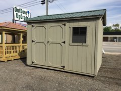 8x12 Cypress Moss/ Evergreen Shed