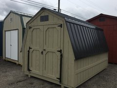 8x12 Palmetto w/Black Roof