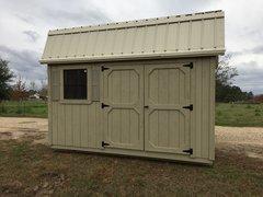10x12 Amish Palmetto Barn