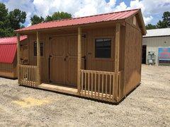 Used 10x16 Barn w/ Porch