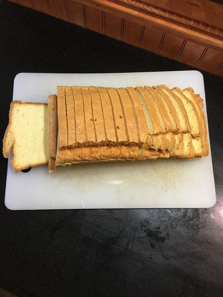 Low Carb Almond Bread Large