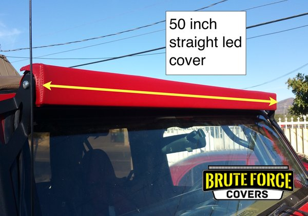 50 inch double row straight led light bar cover brute force covers 50 inch double row straight led light bar cover mozeypictures Choice Image