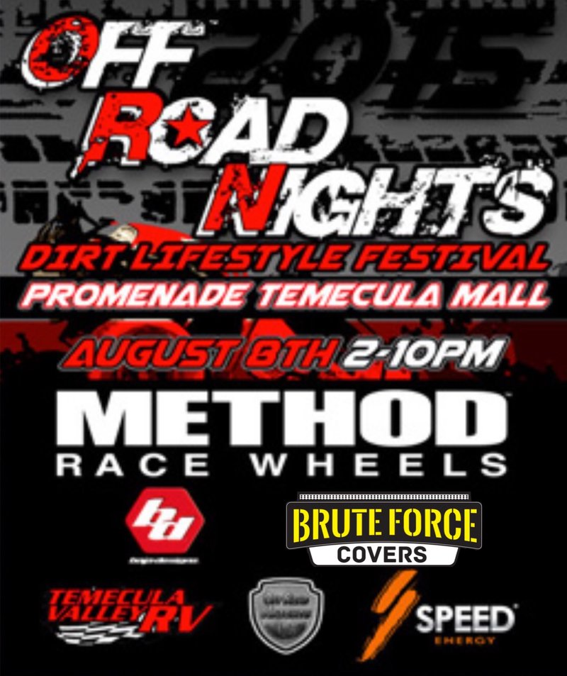 Upcoming Events Brute Force Covers