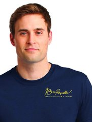 Burt Reynolds Institute Logo T-Shirt - Navy