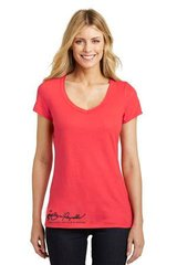 Burt Reynolds Coral Logo Shimmer Shirt