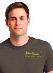 Burt Reynolds Institute Logo T-Shirt - Chestnut