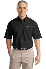 Burt Reynolds Short Sleeve Embroidered Work Shirt