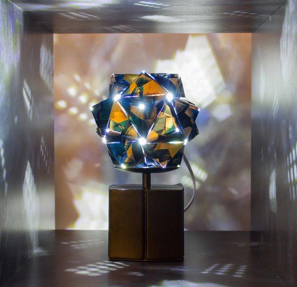 Metal Origami Lights