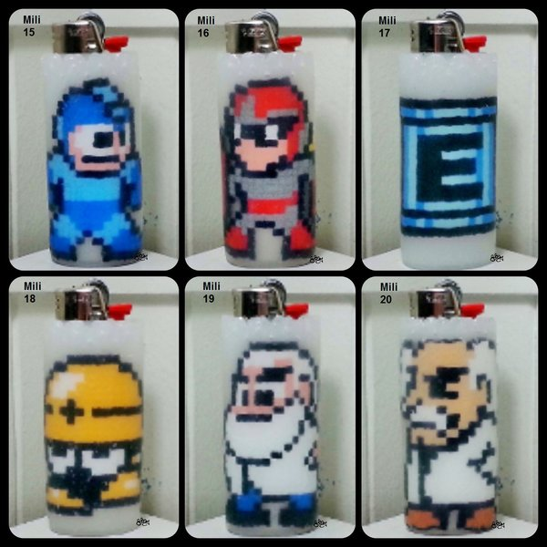 Mega Man Lighter Cases - Mili