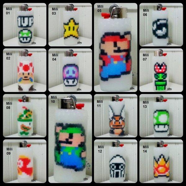 Super Mario Lighter Cases - Mili