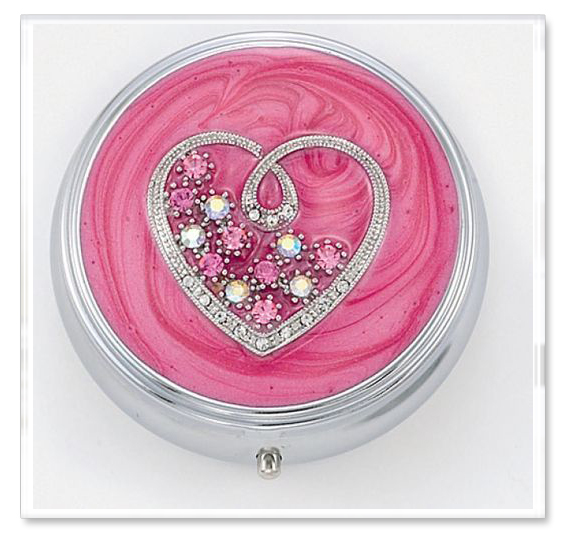 Sweetheart Large Pill Box Periwinkle Gift Shop Online