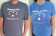 Always On Full T-Shirts