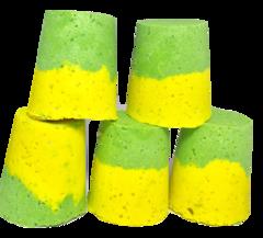 Artisan Bath Torpedoes. 5 Pack, Lemon Lime Combo 002