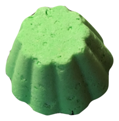 Cucumber and Melon Bath Bomb with Dead Sea Salt and Fragrance Oil