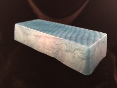 XXL Bar in Goat Milk, Glycerin, or Honey Glycerin Base. Choose One Essential Oil, and One Color.