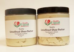 2 for $17.00 Ivory Unrefined Shea Butter 8 oz jar