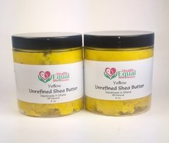 2 for $17.00 Yellow Unrefined Shea Butter 8 oz jar