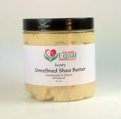 Ivory Unrefined Shea Butter 8 oz jar
