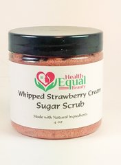 Whipped Strawberry Cream Sugar Scrub 4oz