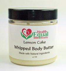 Lemon cake scented body butter 4 oz