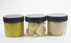 Unrefined Butter Sample Pack Three 2 oz jars