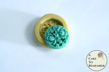 Mini mold flower cabochon flexible silicone mold. M5212