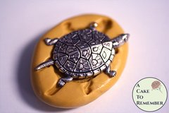 """1.5"""" long turtle silicone mold for resin casting M5232"""