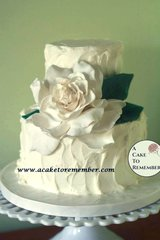 Gumpaste Gardenia for Cake Decorating, edible flowers, gumpaste flowers