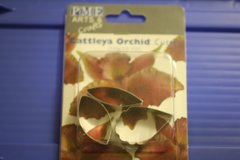 Bundle of two small orchid cutter sets for gumpaste and cake decorating