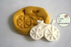 Silicone bicycle mold for cake pops or cupcakes  M5075