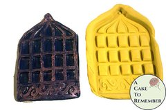 birdcage silicone mold for cake decorating, polymer clay, hard candy, chocolate, birdcage mould