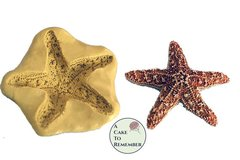 "Silicone starfish mold to make a 2"" starfish for cake decorating"