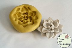 Silicone succulent mold to make a small succulent, M5095