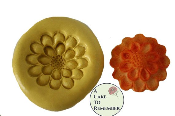 Silicone Flower Mold for cake decorating, chocolate, hard candy, polymer clay, resin. M045